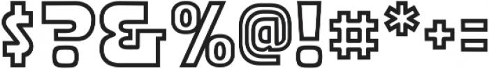 CCStormtrooperArmor otf (400) Font OTHER CHARS
