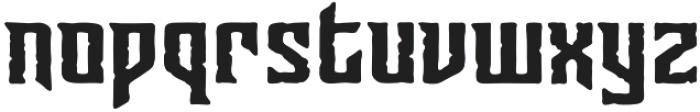 CCSunriseTillSunsetBuried otf (400) Font LOWERCASE
