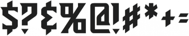 CCSunriseTillSunsetRisen otf (400) Font OTHER CHARS