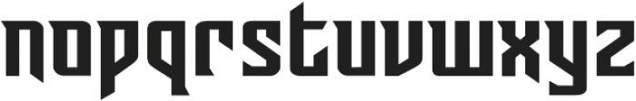 CCSunriseTillSunsetRisen otf (400) Font LOWERCASE