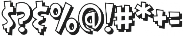 CCThatsAllFolksOpen Regular otf (400) Font OTHER CHARS