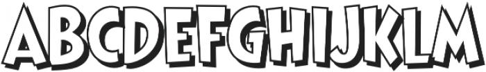 CCThatsAllFolksOpen Regular otf (400) Font LOWERCASE