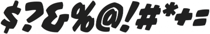 CCThrills otf (400) Font OTHER CHARS