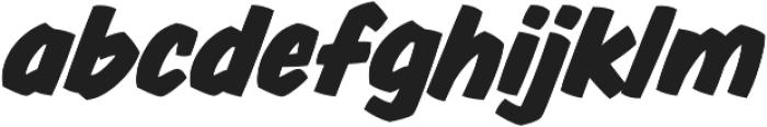 CCThrills otf (400) Font LOWERCASE
