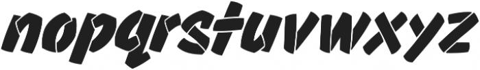 CCThrillsTwist otf (400) Font LOWERCASE
