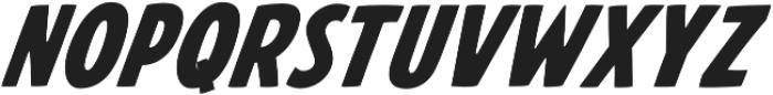 CCWhatchamacallit Condensed Bold Italic otf (700) Font UPPERCASE
