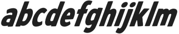 CCWhatchamacallit Condensed Bold Italic otf (700) Font LOWERCASE