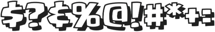 CCYouBlockheadOpen otf (400) Font OTHER CHARS