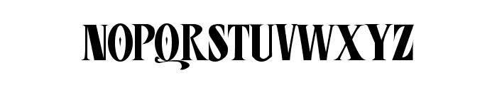 CD Esoteric Plain Font UPPERCASE