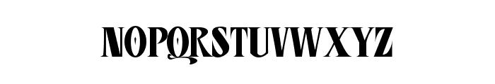 CD Esoteric Plain Font LOWERCASE