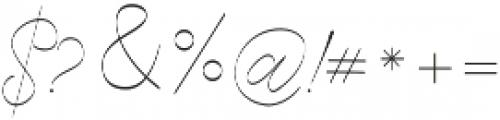 Cecilia Script otf (400) Font OTHER CHARS