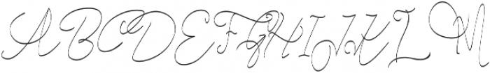 Cecilia Script otf (400) Font UPPERCASE