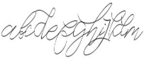 Cecilia Script otf (400) Font LOWERCASE
