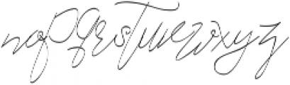 Cecilia Script ttf (400) Font LOWERCASE