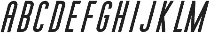 Cedar Ridge Italic otf (400) Font UPPERCASE