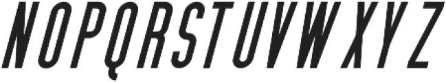 Cedar Ridge Italic otf (400) Font LOWERCASE