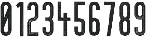 Cedar Ridge Printed otf (400) Font OTHER CHARS