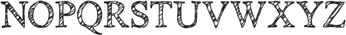 Cedarville Pnkfun1 Cursive ttf (400) Font UPPERCASE