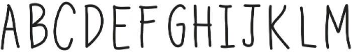 CedricMarker ttf (400) Font UPPERCASE