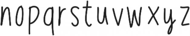CedricMarker ttf (400) Font LOWERCASE