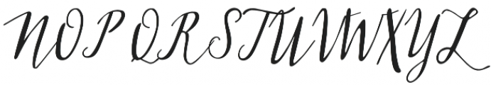 Cedrika otf (400) Font UPPERCASE