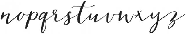 Cedrika otf (400) Font LOWERCASE