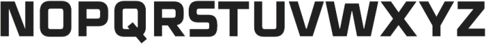 Celdum ExtraBold otf (700) Font UPPERCASE