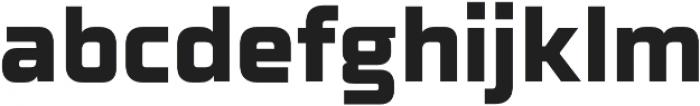 Celdum ExtraBold otf (700) Font LOWERCASE