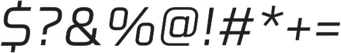 Celdum Italic otf (400) Font OTHER CHARS
