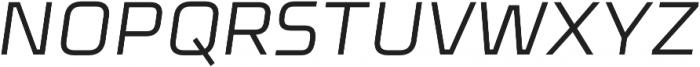 Celdum Italic otf (400) Font UPPERCASE