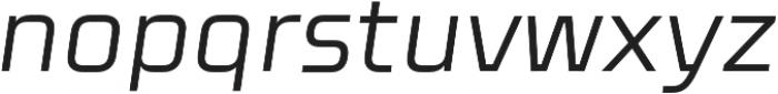 Celdum Italic otf (400) Font LOWERCASE