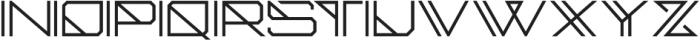 CellicaRegular otf (400) Font UPPERCASE
