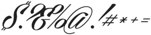 Cellos Script otf (400) Font OTHER CHARS