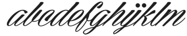 Cellos Script otf (400) Font LOWERCASE
