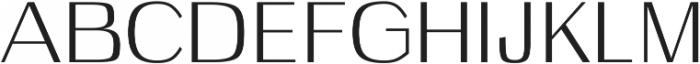 Celosia otf (400) Font UPPERCASE
