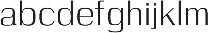 Celosia otf (400) Font LOWERCASE