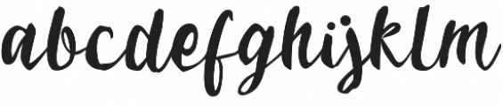 Cemporeng otf (400) Font LOWERCASE