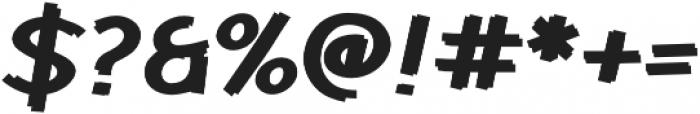 Cent City Bold otf (700) Font OTHER CHARS