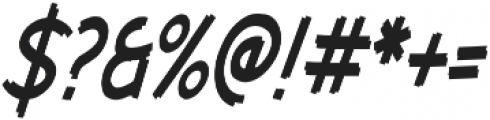 Cent City Condensed Italic otf (400) Font OTHER CHARS
