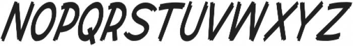 Cent City Condensed Italic otf (400) Font UPPERCASE