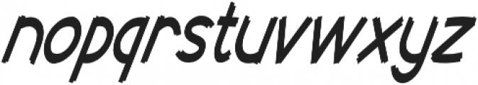 Cent City Condensed Italic otf (400) Font LOWERCASE