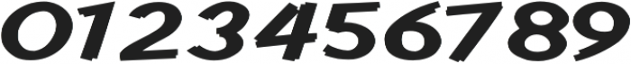 Cent City Expanded Bold otf (700) Font OTHER CHARS
