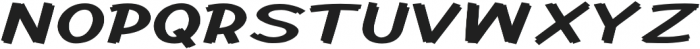 Cent City Expanded Bold otf (700) Font UPPERCASE