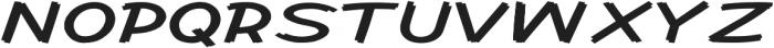 Cent City Extra-expanded Regular otf (400) Font UPPERCASE