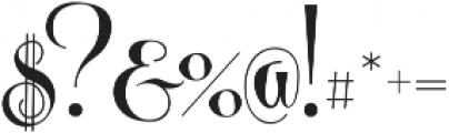Centeria Script Fat Alt Fat Alt ttf (800) Font OTHER CHARS