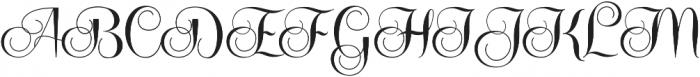 Centeria Script Fat Alt Fat Alt ttf (800) Font UPPERCASE