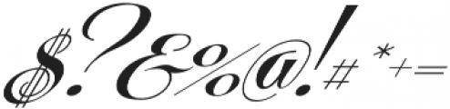 Centeria Script Fat Alt Slanted otf (800) Font OTHER CHARS