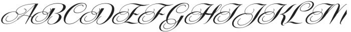 Centeria Script Fat Alt Slanted otf (800) Font UPPERCASE