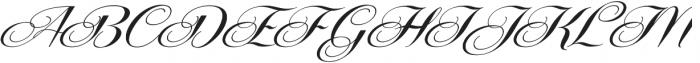 Centeria Script Fat Alt Slanted ttf (800) Font UPPERCASE