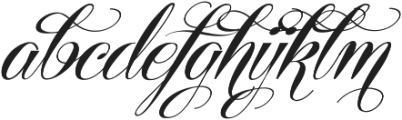 Centeria Script Fat Alt Slanted ttf (800) Font LOWERCASE